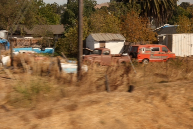 Old Pickup somewhere in California