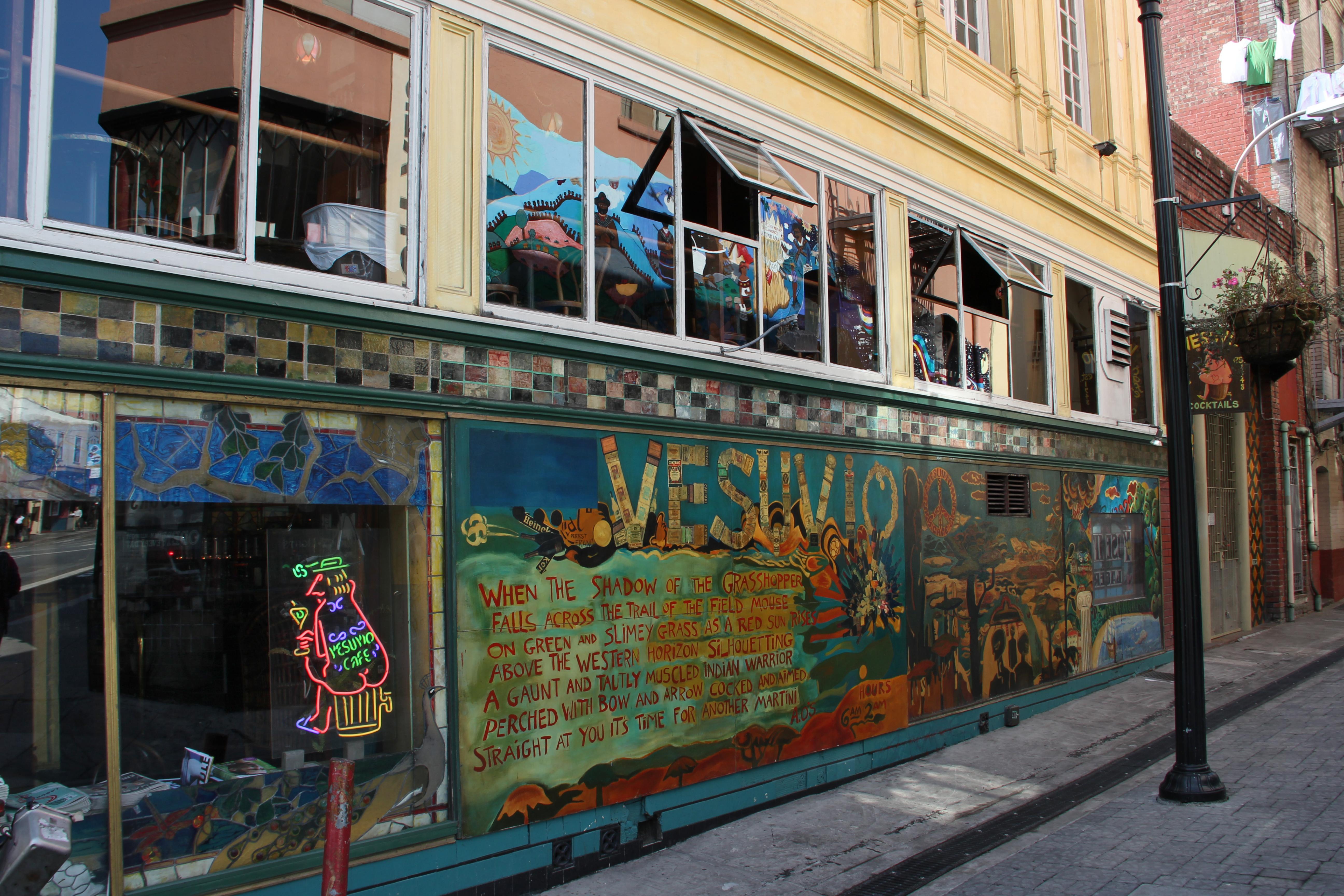 Jack Kerouac Cafe San Francisco