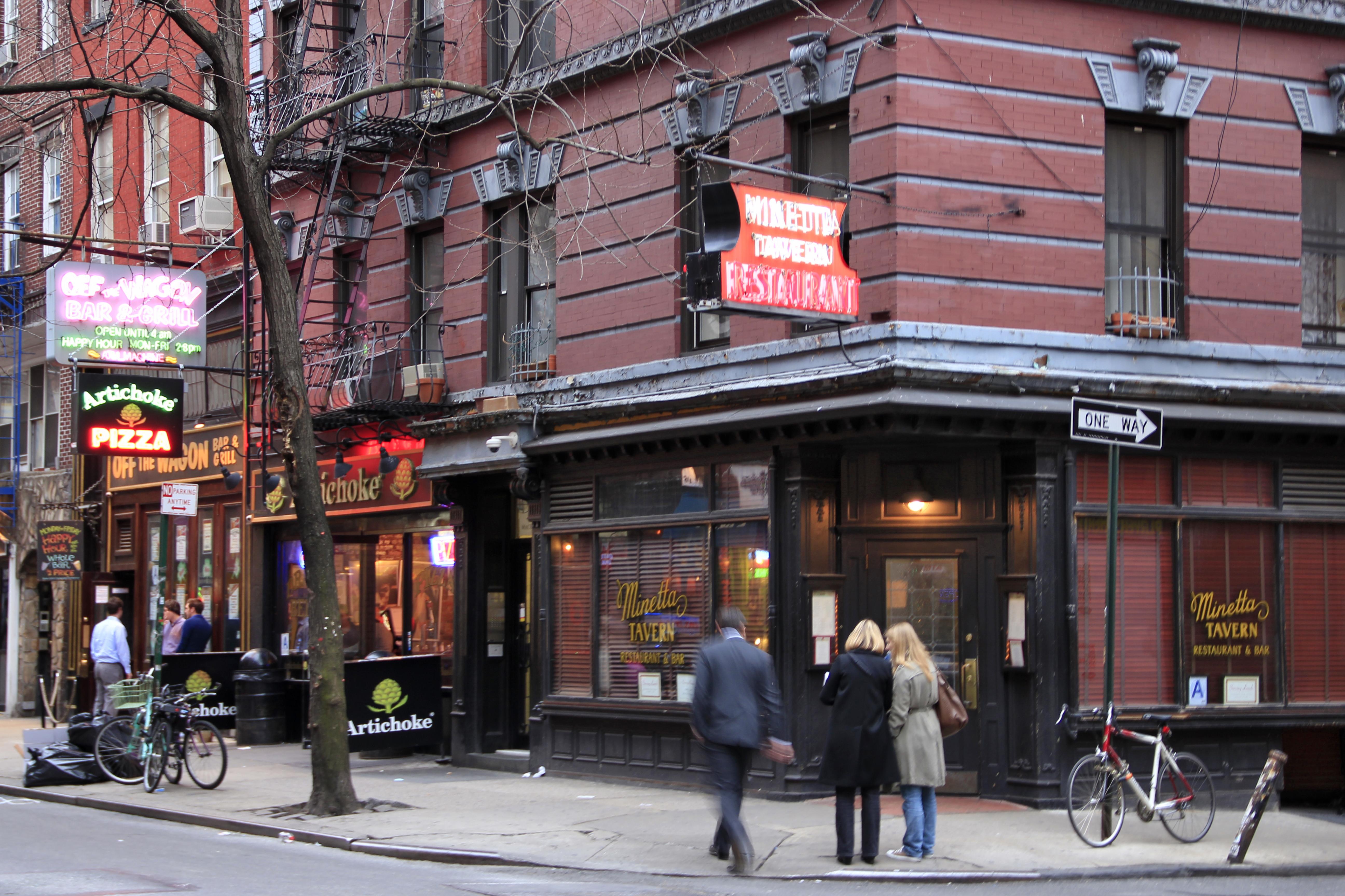 Minetta Tavern Greenwich Village Retracing Jack Kerouac