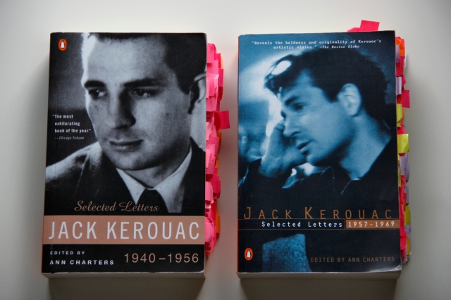 Jack Kerouac Selected Letters 1940-1956 and 1957-1969 covers