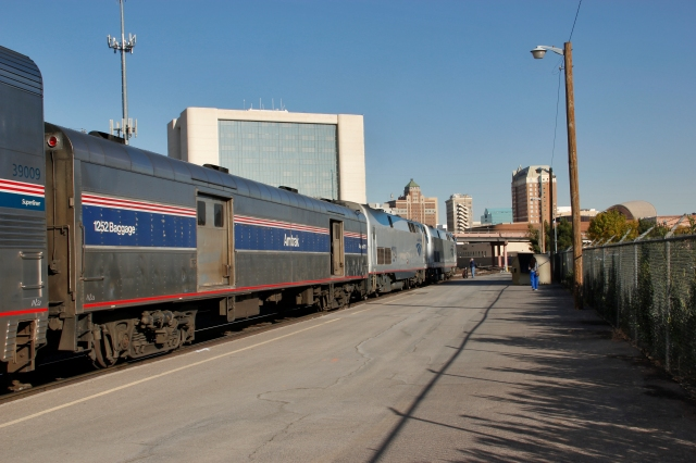 The Sunset Limited at El Paso, TX