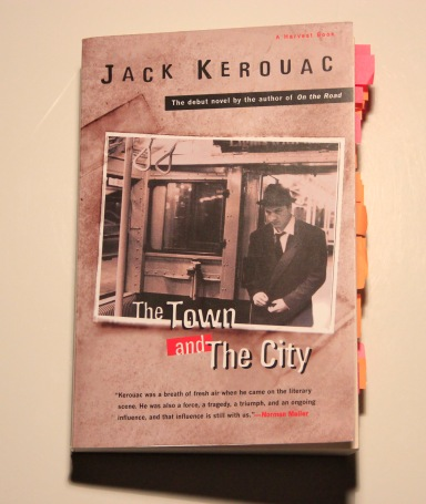 Jack Kerouac The Town And The City book cover
