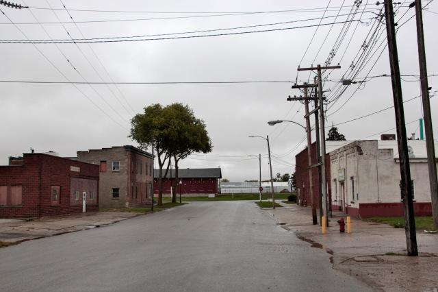 Street in Stuart, Iowa